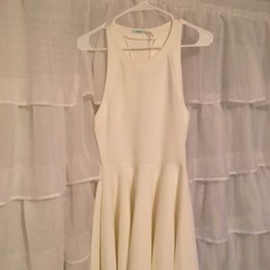 White Skater Dress Urban Outfitters sz S